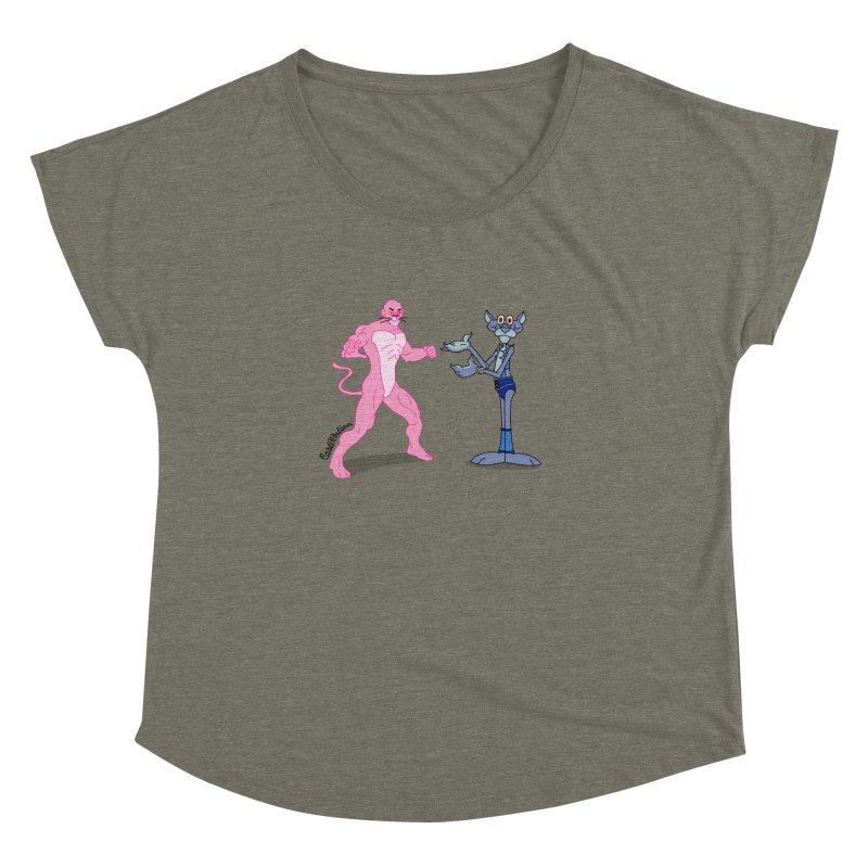 Pink Panthro Women's Dolman by Cart00nlion's Artist Shop