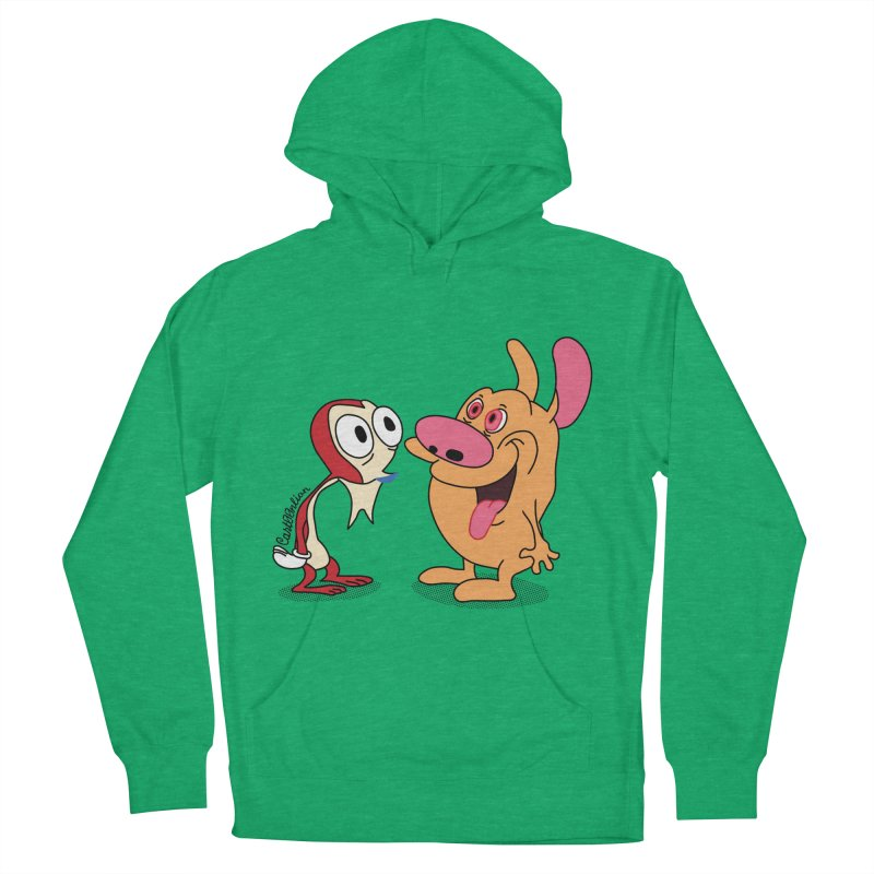 Sten & Rimpy Men's Pullover Hoody by Cart00nlion's Artist Shop