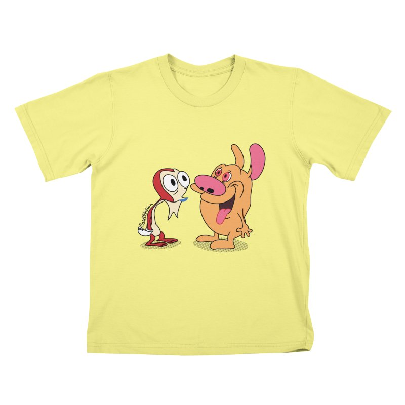 Sten & Rimpy Kids T-shirt by Cart00nlion's Artist Shop