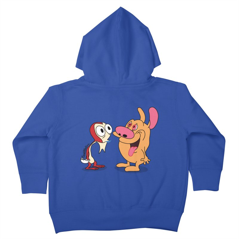 Sten & Rimpy Kids Toddler Zip-Up Hoody by Cart00nlion's Artist Shop