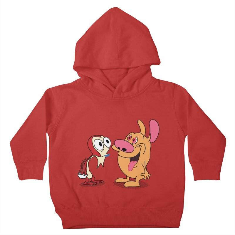 Sten & Rimpy Kids Toddler Pullover Hoody by Cart00nlion's Artist Shop