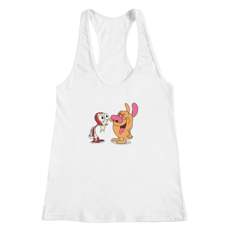 Sten & Rimpy Women's Racerback Tank by Cart00nlion's Artist Shop