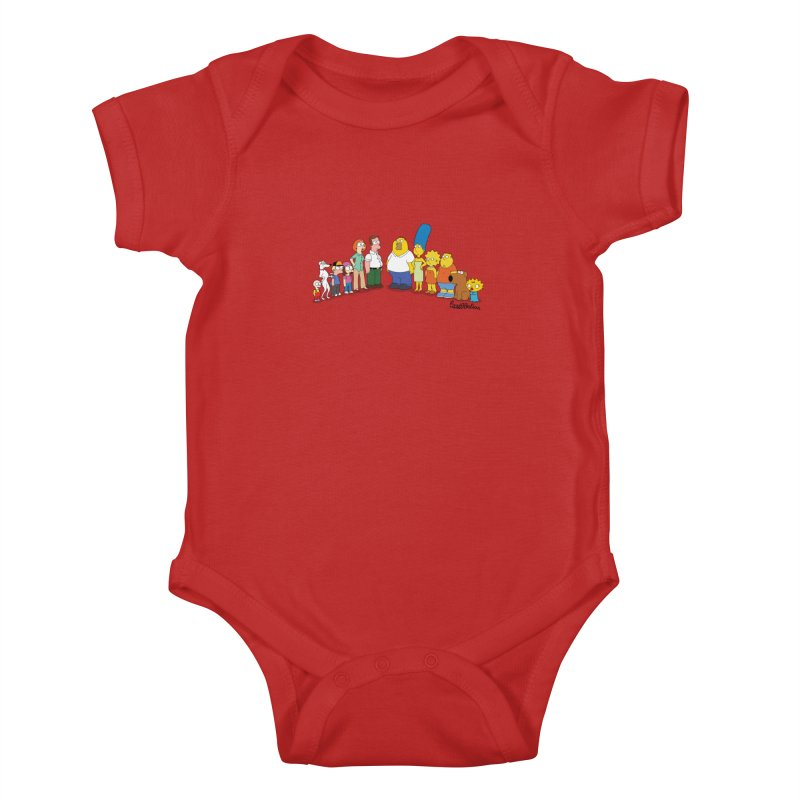 The Griffsons Kids Baby Bodysuit by Cart00nlion's Artist Shop