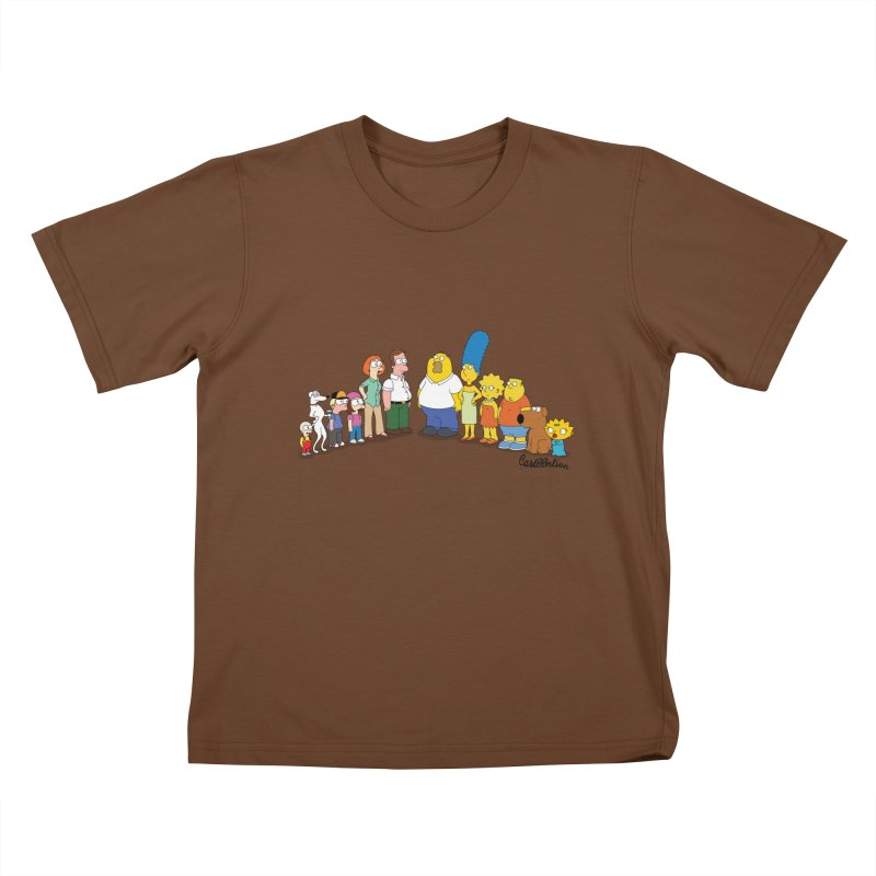 The Griffsons Kids T-shirt by Cart00nlion's Artist Shop
