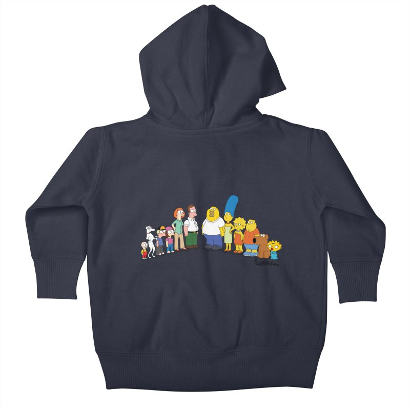 The Griffsons Kids Baby Zip-Up Hoody by Cart00nlion's Artist Shop