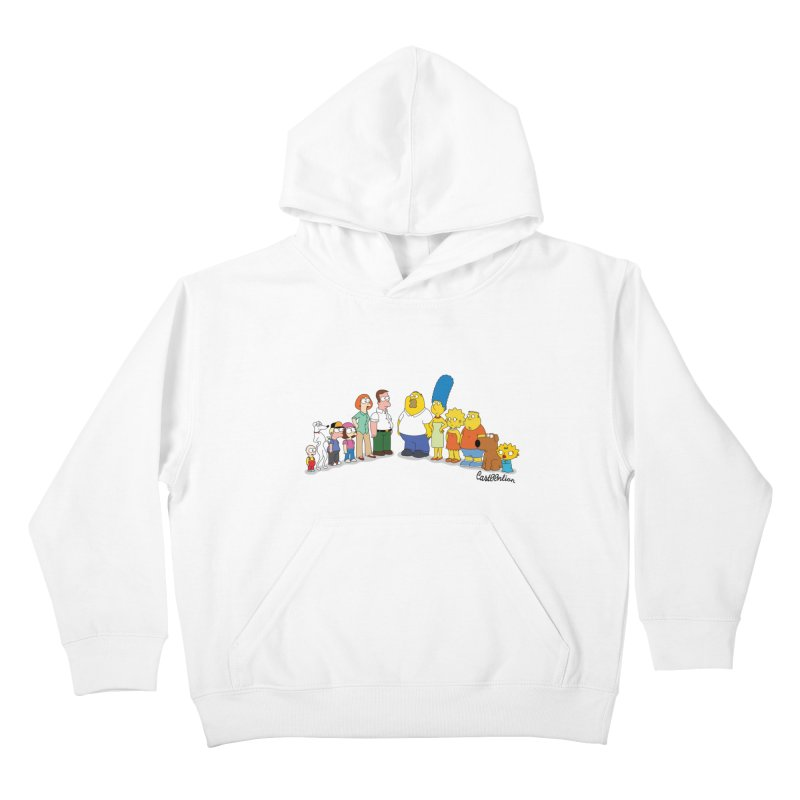 The Griffsons Kids Pullover Hoody by Cart00nlion's Artist Shop