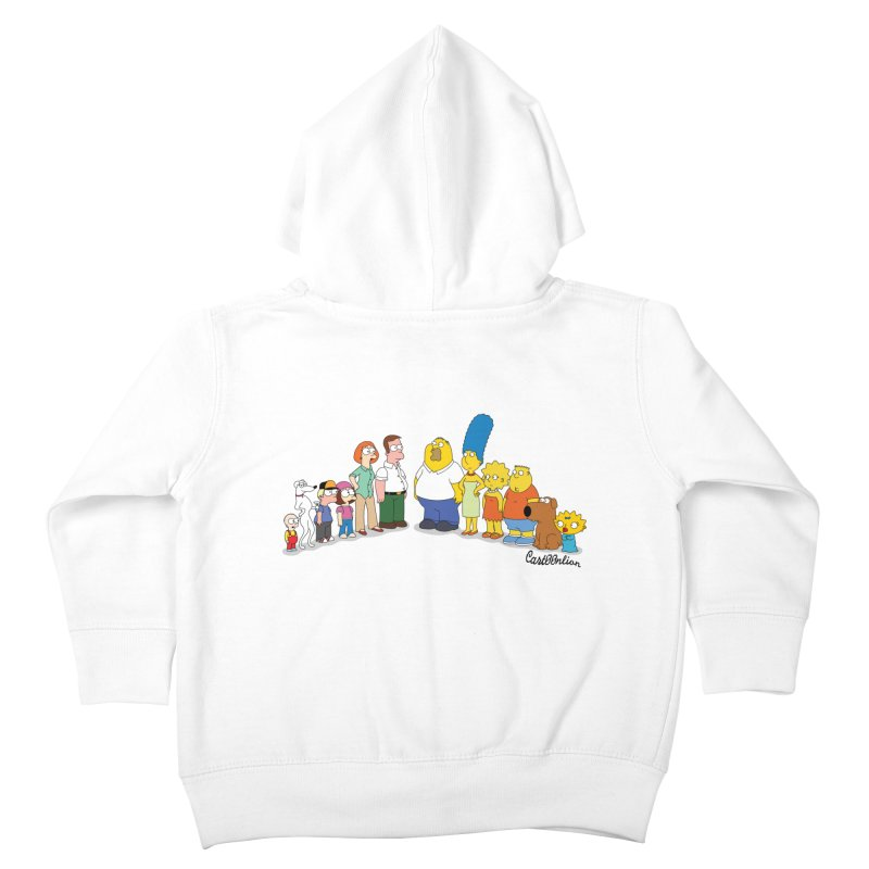The Griffsons Kids Toddler Zip-Up Hoody by Cart00nlion's Artist Shop