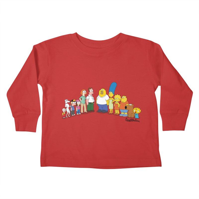 The Griffsons Kids Toddler Longsleeve T-Shirt by Cart00nlion's Artist Shop