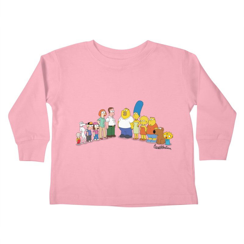 The Griffsons Kids Toddler Longsleeve T-Shirt by Cart00nlion's Artist Shop
