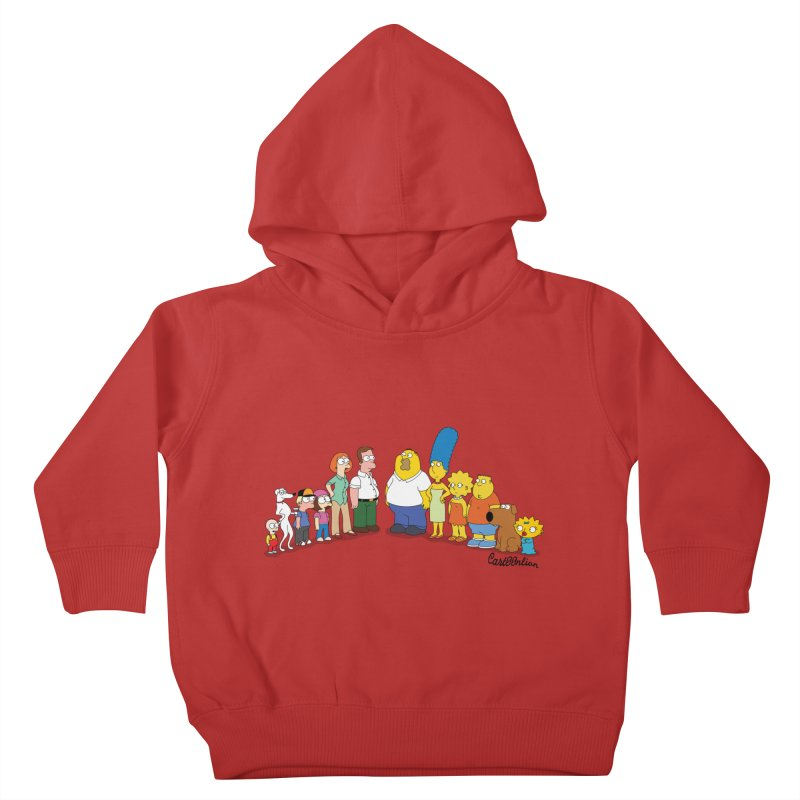 The Griffsons Kids Toddler Pullover Hoody by Cart00nlion's Artist Shop
