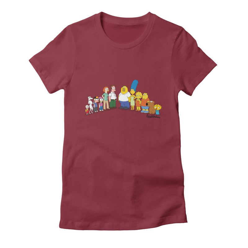 The Griffsons Women's Fitted T-Shirt by Cart00nlion's Artist Shop