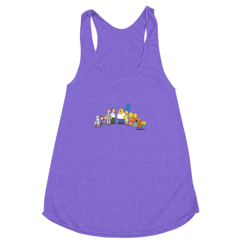 The Griffsons Women's Racerback Triblend Tank by Cart00nlion's Artist Shop