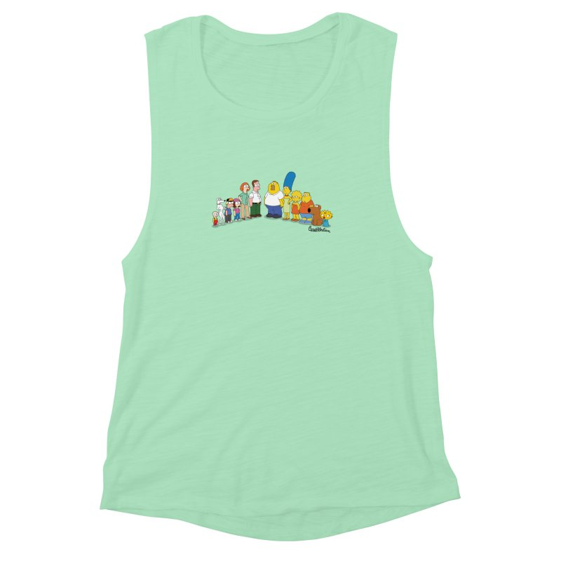 The Griffsons Women's Muscle Tank by Cart00nlion's Artist Shop