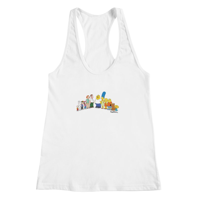 The Griffsons Women's Racerback Tank by Cart00nlion's Artist Shop