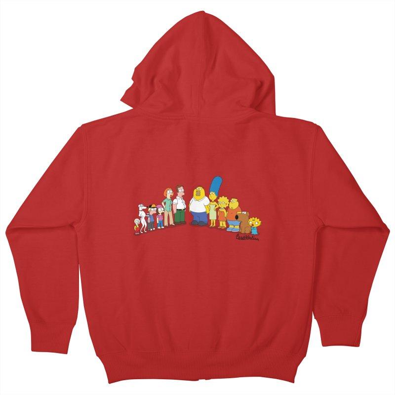 The Griffsons Kids Zip-Up Hoody by Cart00nlion's Artist Shop