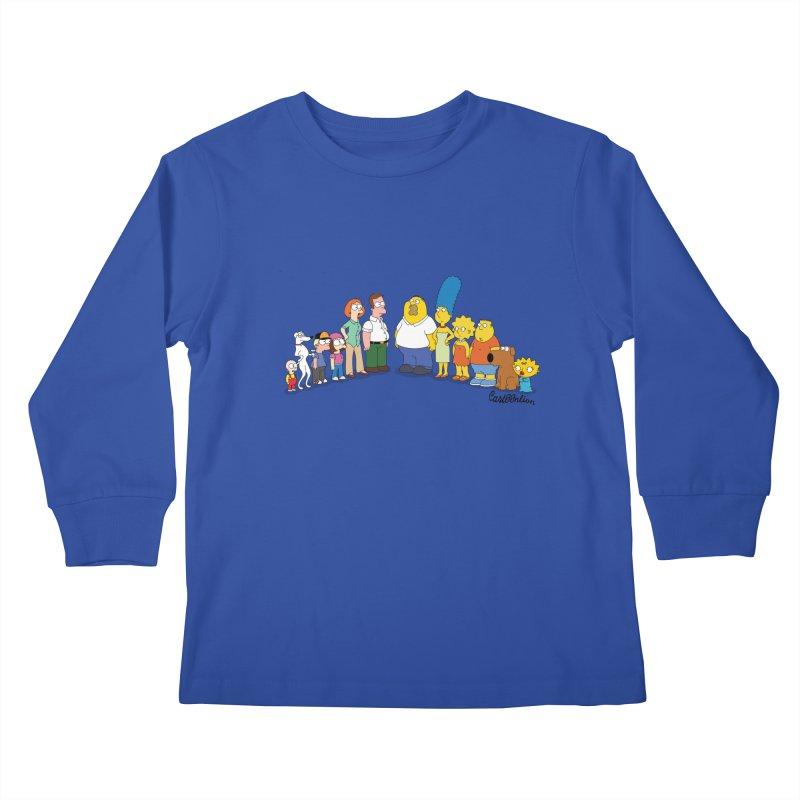 The Griffsons Kids Longsleeve T-Shirt by Cart00nlion's Artist Shop