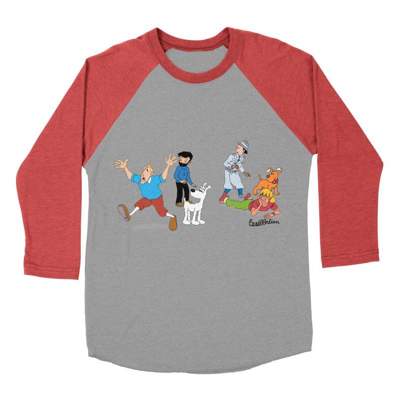 Tinspector Gadget Men's Baseball Triblend T-Shirt by Cart00nlion's Artist Shop