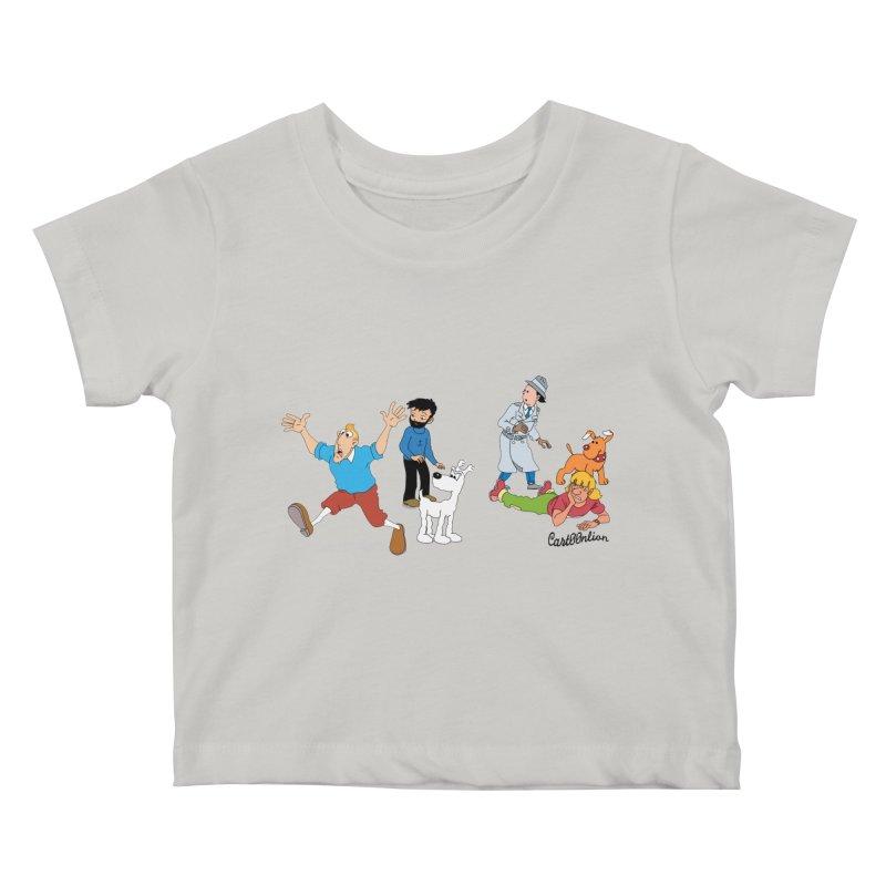 Tinspector Gadget Kids Baby T-Shirt by Cart00nlion's Artist Shop