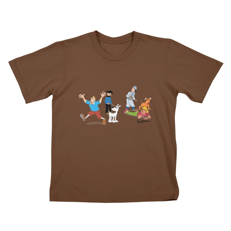 Tinspector Gadget Kids T-shirt by Cart00nlion's Artist Shop