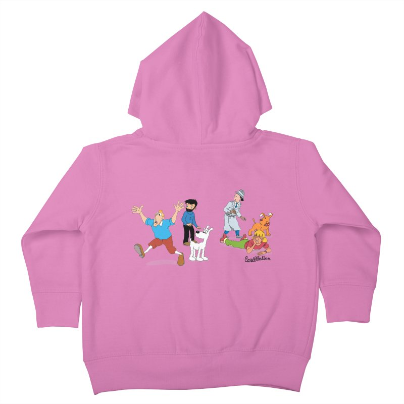 Tinspector Gadget Kids Toddler Zip-Up Hoody by Cart00nlion's Artist Shop