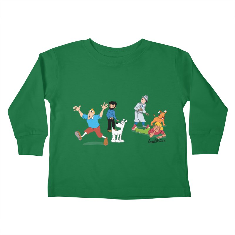 Tinspector Gadget Kids Toddler Longsleeve T-Shirt by Cart00nlion's Artist Shop