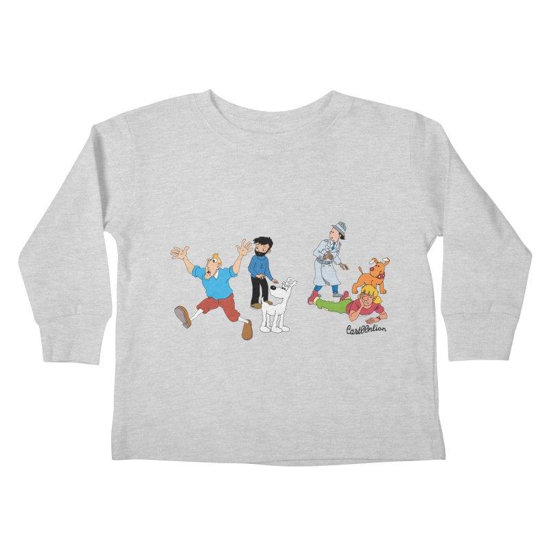 Tinspector Gadget Kids Toddler Longsleeve T-Shirt by Cart00nlion's Artist Shop