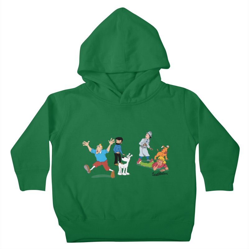 Tinspector Gadget Kids Toddler Pullover Hoody by Cart00nlion's Artist Shop