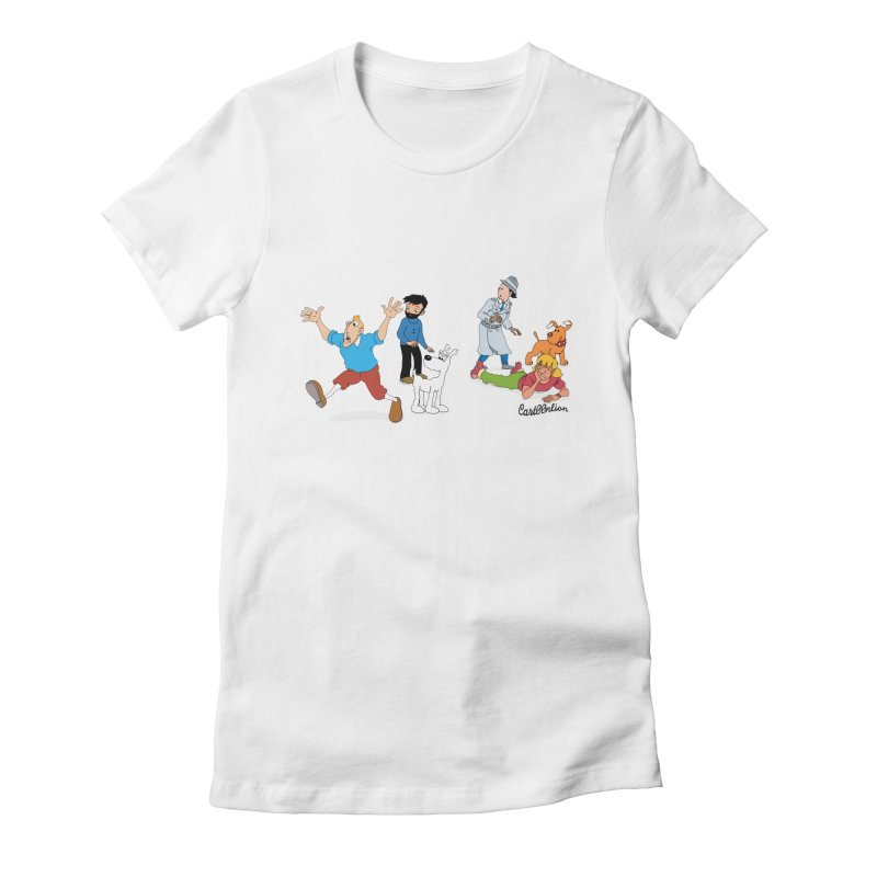 Tinspector Gadget Women's Fitted T-Shirt by Cart00nlion's Artist Shop
