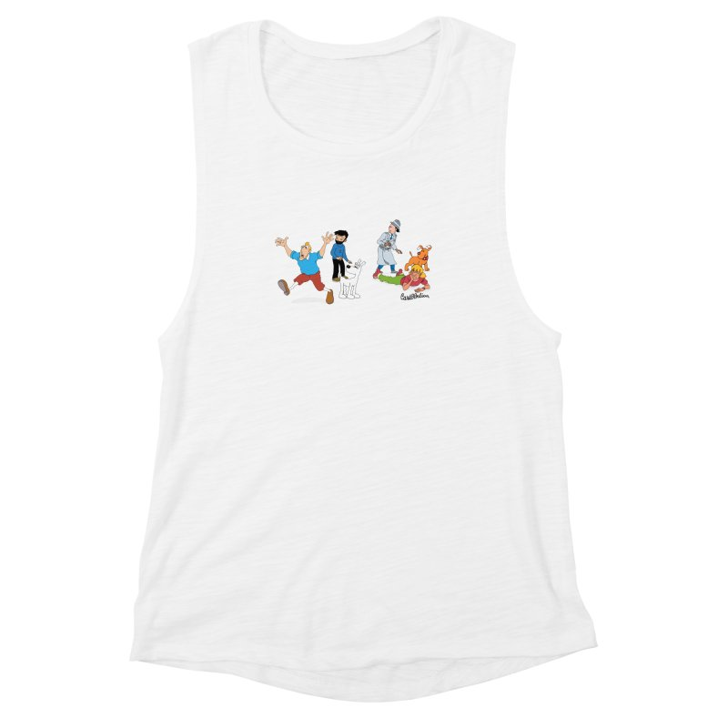 Tinspector Gadget Women's Muscle Tank by Cart00nlion's Artist Shop