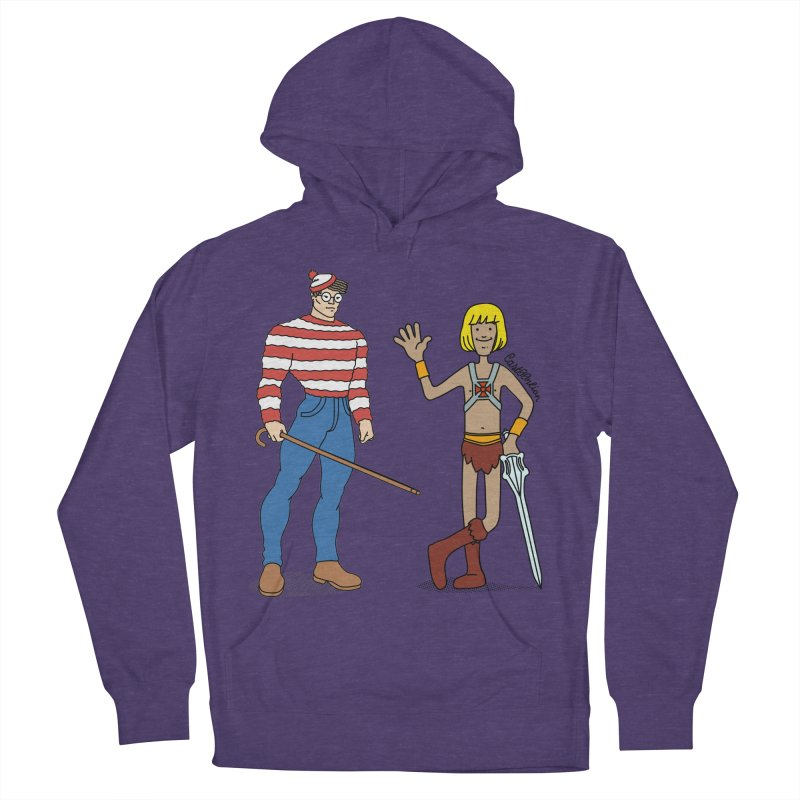 Where's Wal-Man? Men's Pullover Hoody by Cart00nlion's Artist Shop