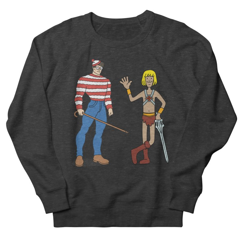 Where's Wal-Man? Women's Sweatshirt by Cart00nlion's Artist Shop