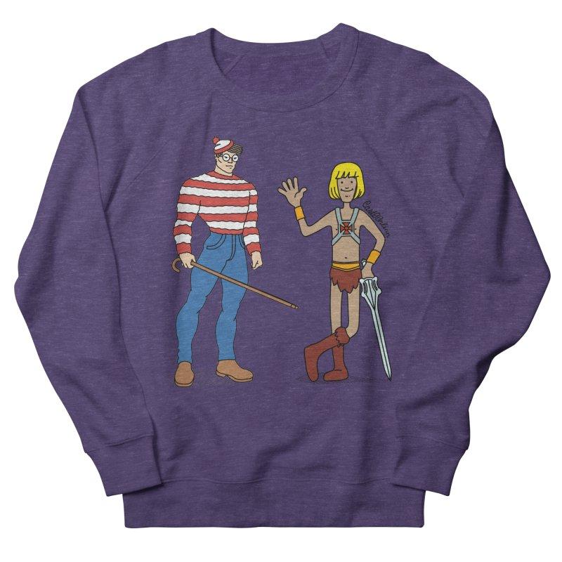 Where's Wal-Man? Men's Sweatshirt by Cart00nlion's Artist Shop