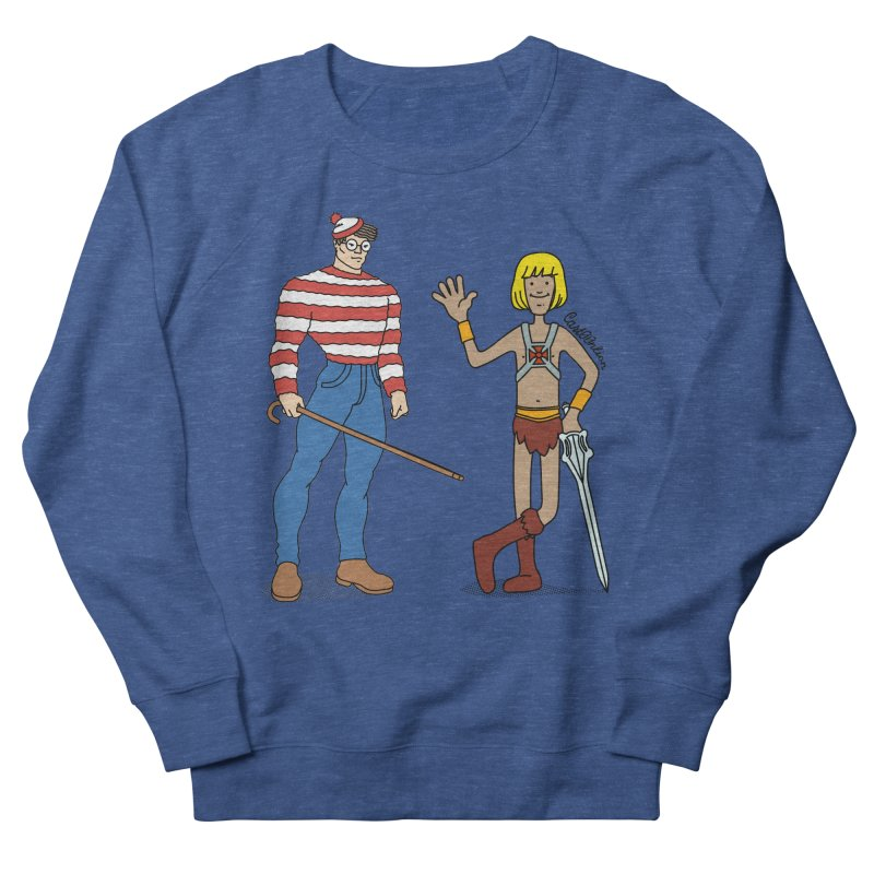 Where's Wal-Man? Men's Sweatshirt by Cart00nlion's Artist Shop