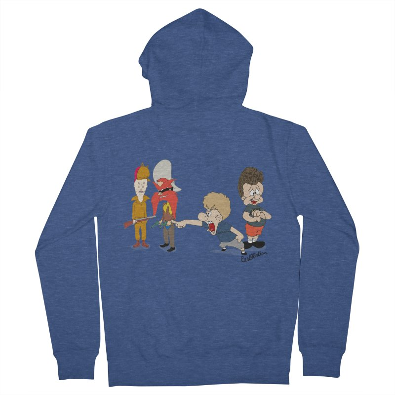 Yoseavis & Fuddhead Men's Zip-Up Hoody by Cart00nlion's Artist Shop