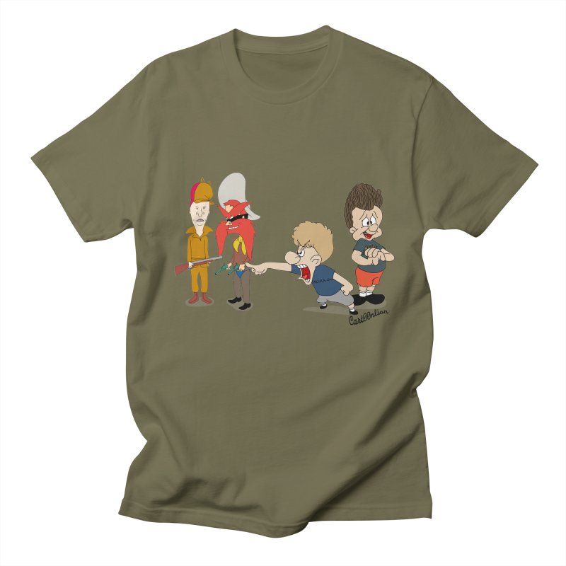 Yoseavis & Fuddhead Men's T-shirt by Cart00nlion's Artist Shop