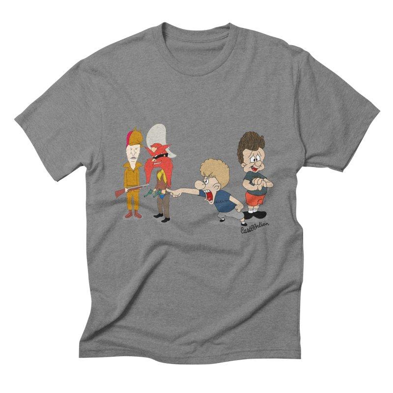 Yoseavis & Fuddhead Men's Triblend T-Shirt by Cart00nlion's Artist Shop