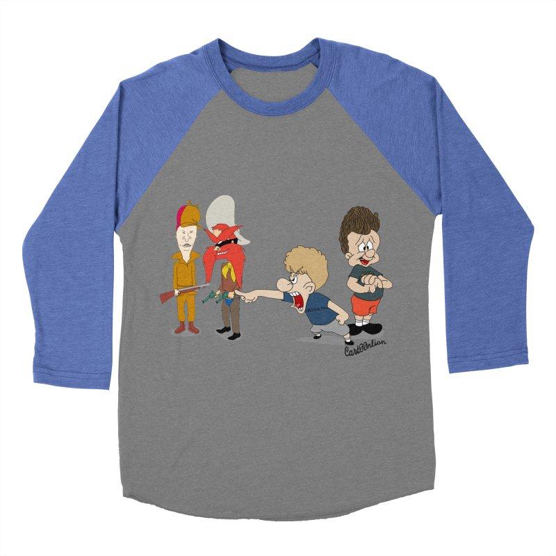 Yoseavis & Fuddhead Women's Baseball Triblend T-Shirt by Cart00nlion's Artist Shop