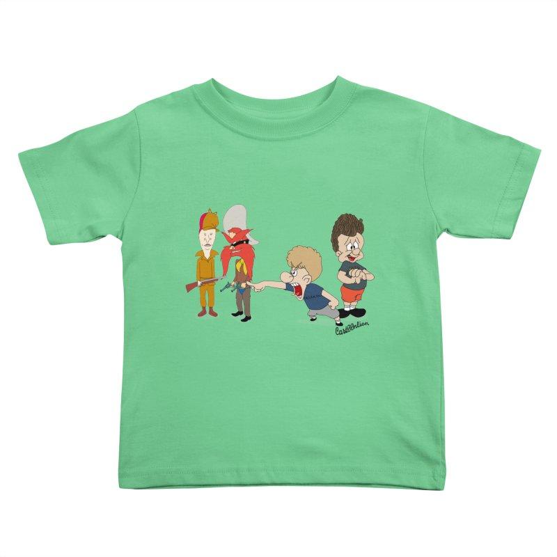 Yoseavis & Fuddhead Kids Toddler T-Shirt by Cart00nlion's Artist Shop