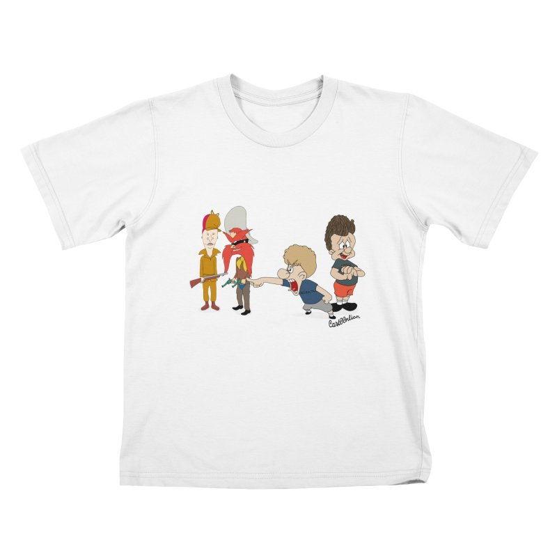 Yoseavis & Fuddhead Kids T-shirt by Cart00nlion's Artist Shop