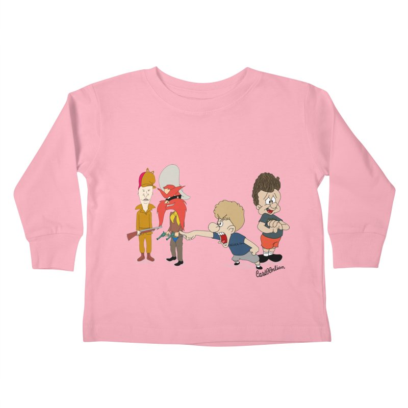 Yoseavis & Fuddhead Kids Toddler Longsleeve T-Shirt by Cart00nlion's Artist Shop