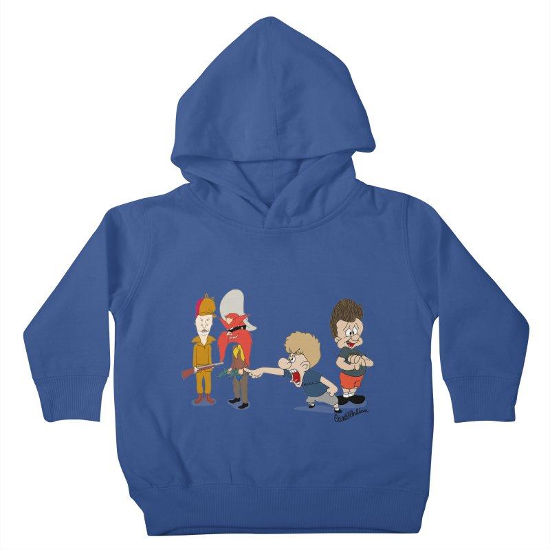 Yoseavis & Fuddhead Kids Toddler Pullover Hoody by Cart00nlion's Artist Shop