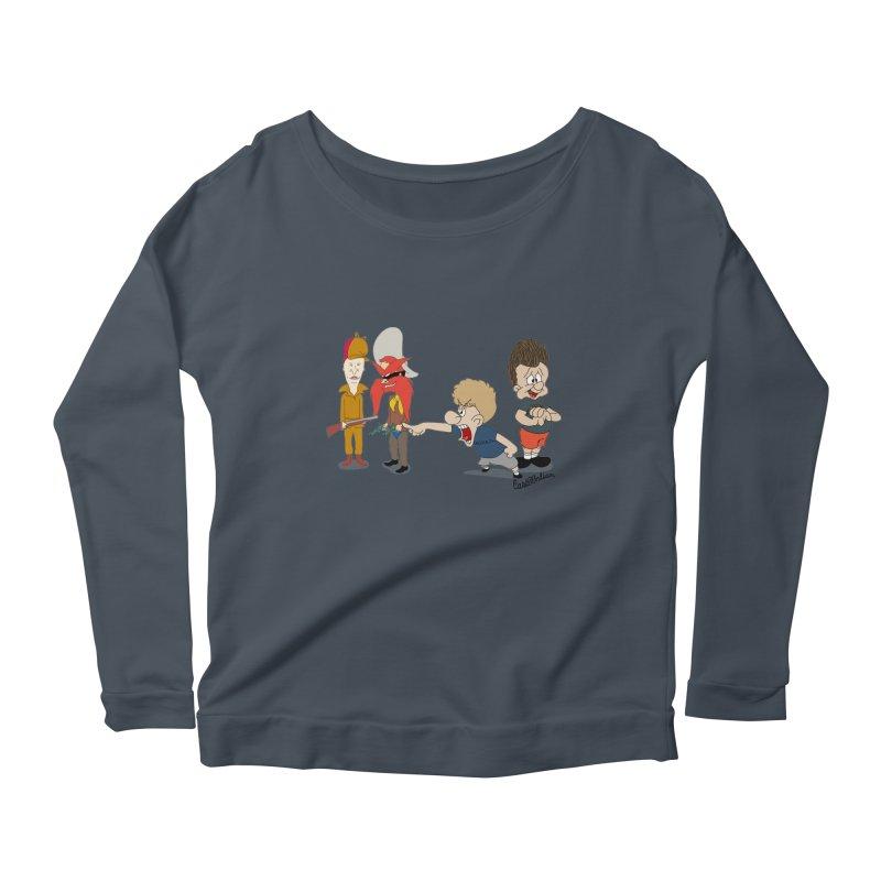 Yoseavis & Fuddhead Women's Scoop Neck Longsleeve T-Shirt by Cart00nlion's Artist Shop