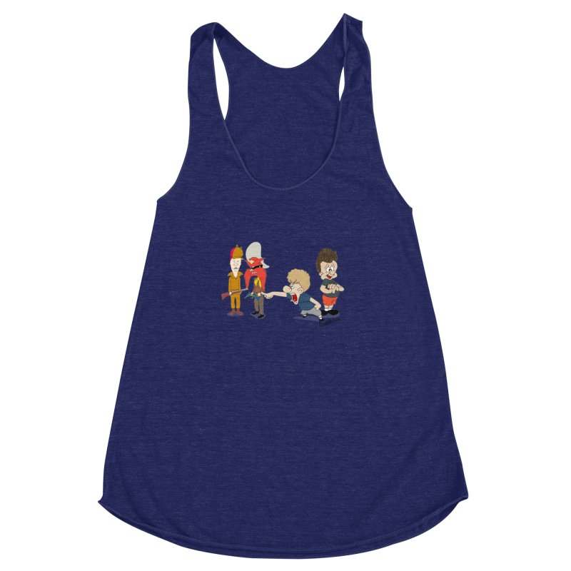 Yoseavis & Fuddhead Women's Racerback Triblend Tank by Cart00nlion's Artist Shop
