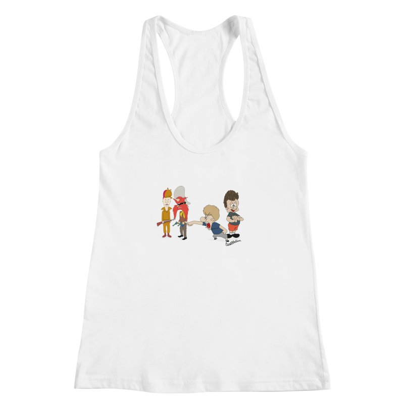Yoseavis & Fuddhead Women's Racerback Tank by Cart00nlion's Artist Shop