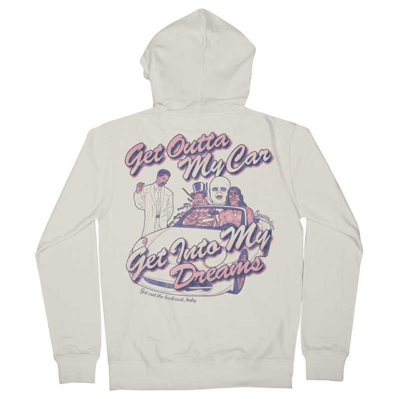 Get Outta My Car Men's Zip-Up Hoody by Cart00nlion's Artist Shop