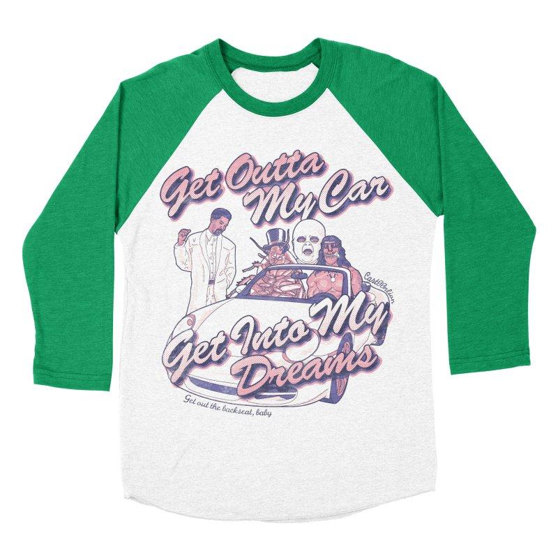 Get Outta My Car Women's Baseball Triblend T-Shirt by Cart00nlion's Artist Shop