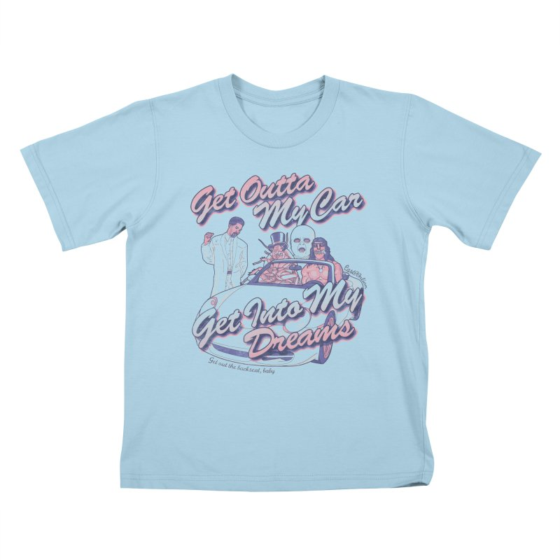 Get Outta My Car Kids T-shirt by Cart00nlion's Artist Shop