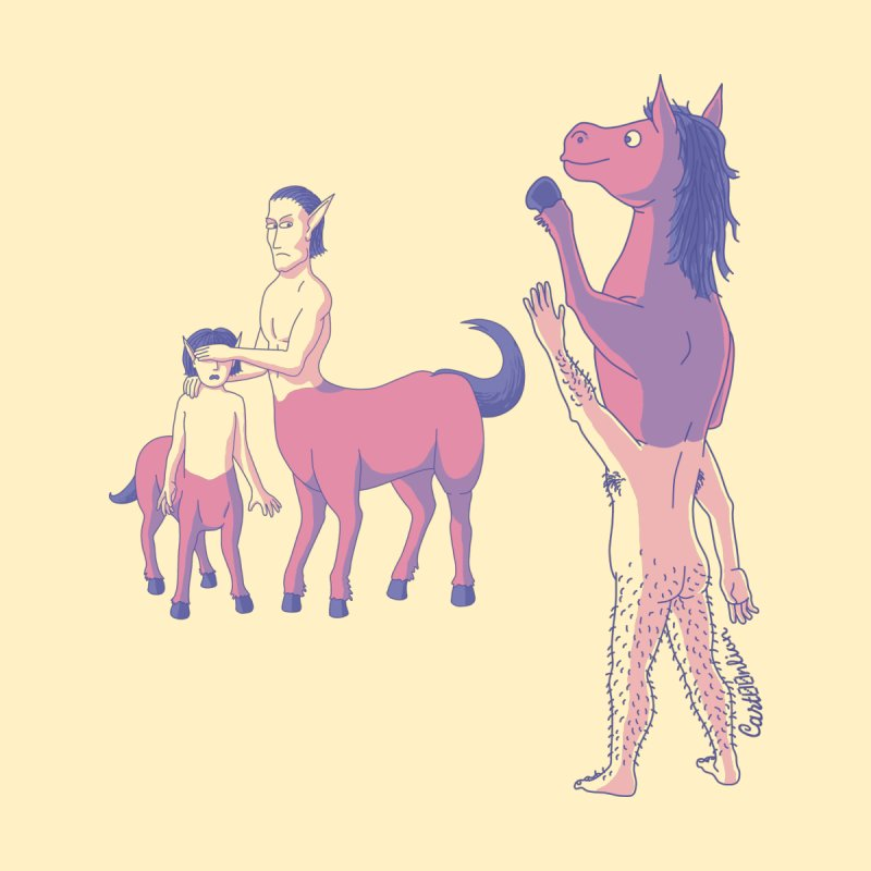 Nobody Likes Reverse Centaur by Cart00nlion's Artist Shop