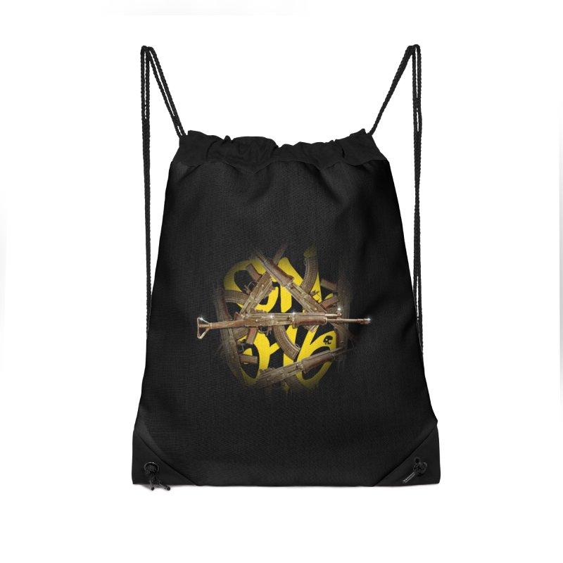 CasaNorte - Rynkky Accessories Drawstring Bag Bag by Casa Norte's Artist Shop