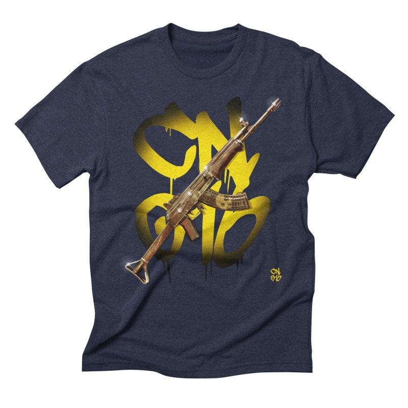 CasaNorte - Rynkky Men's Triblend T-Shirt by Casa Norte's Artist Shop